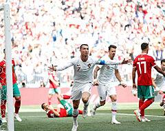 Ronaldo loodst Portugal gevleid naar de zege, Marokko al uitgeschakeld