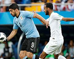 Groep A al volledig beslist na zuinige zege Uruguay tegen Saudi-Arabië