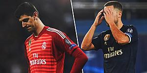 Foto: De vloek van Real Madrid: Hazard en Courtois nu al onder druk