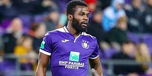 Foto: Lawrence alweer weg bij Anderlecht?
