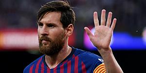 Foto: 'Messi duidt verrassende nieuwe trainer aan voor Barcelona'