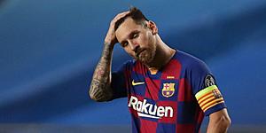 Foto: 'Messi neemt drastische beslissing na blamage Barcelona'