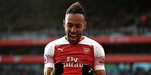 Foto: 'Aubameyang houdt Arsenal af en hoopt op megatransfer'
