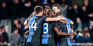 Foto: 'Napoli meldt zich aan het front voor sterkhouder Club Brugge'