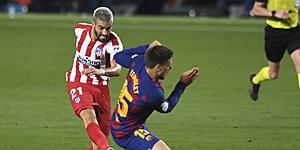 Foto: 'Atletico Madrid schiet in actie na glansprestatie Carrasco'