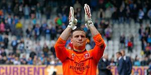 Foto: 'Belgische doelman speelt zich in de kijker in Duitsland'