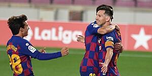 Foto: 'Barça werkt aan drastische verjongingsstrategie'