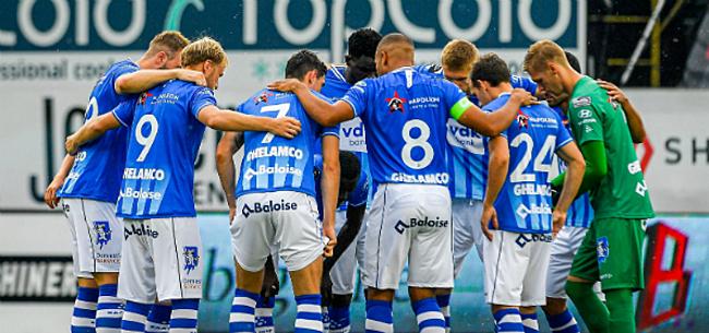 Foto: AA Gent legt jonge aanvaller onder contract