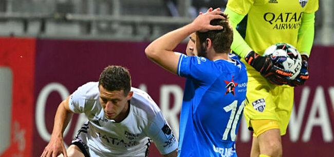 Foto: AA Gent zet dramatische start voort met nederlaag bij Eupen
