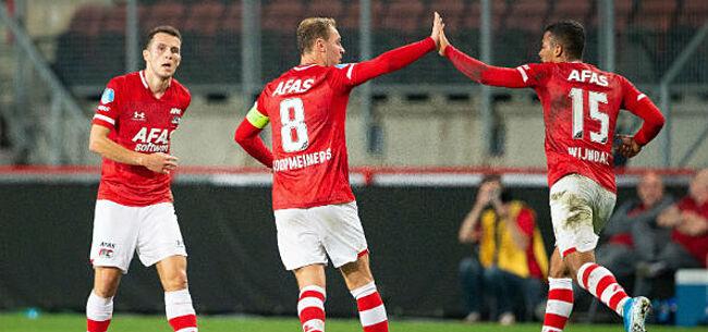 Foto: AZ slaat slag thuis en strikt Anderlecht-doelwit