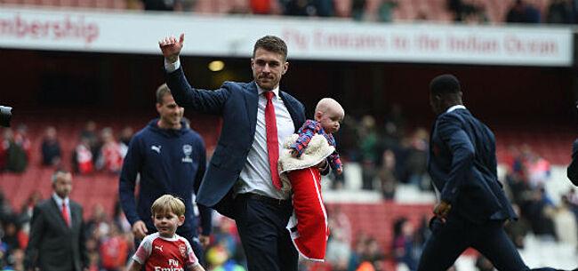 Foto: Arsenal-icoon neemt afscheid in tranen
