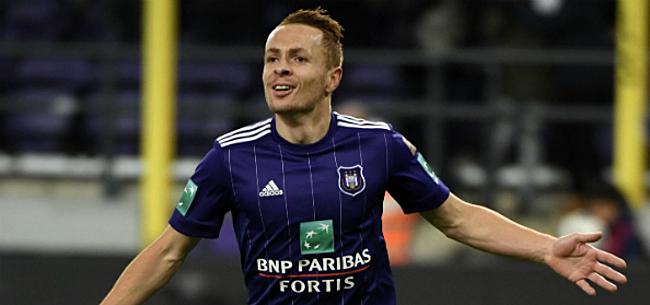 Foto: Anderlecht dreigt Trebel lange tijd te moeten missen