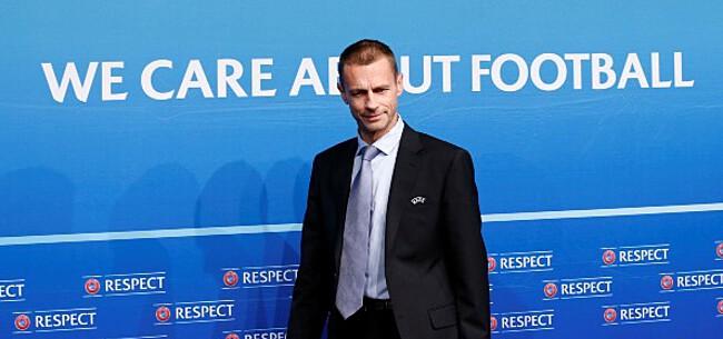 Foto: UEFA-baas dreigt: