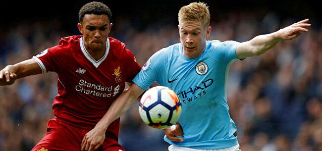 Foto: Straf: Liverpool-rechtsback troeft assistkoning De Bruyne af
