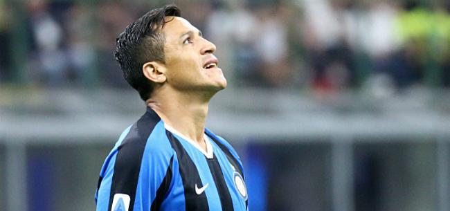 Foto: 'Alexis Sanchez bezorgt Inter en United nachtmerries'