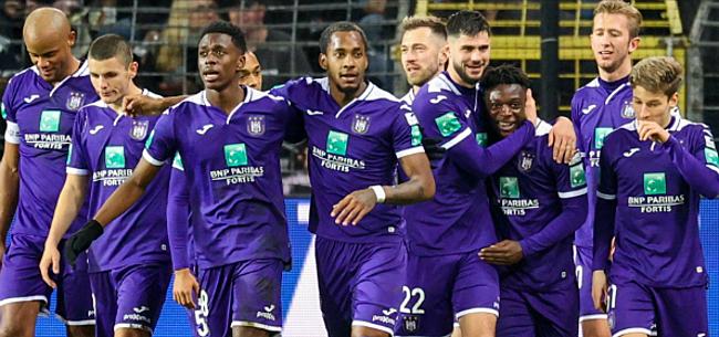 Foto: Nieuwkomer Anderlecht steekt tandje bij: