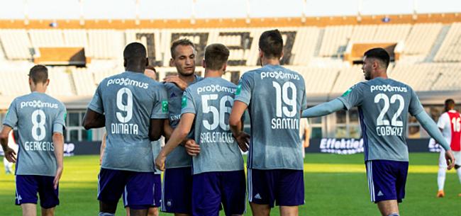 Foto: Aanwinst Anderlecht maakt geen te beste beurt: