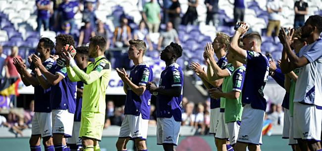 Foto: Topaankoop Anderlecht laat het afweten: