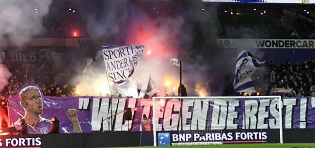 Foto: 'Anderlecht alweer op ramkoers met de pers'