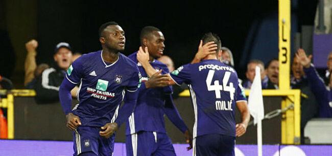 Foto: Anderlecht wint oefenpartij bij Willem II