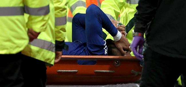 Foto: Gomes vreest voor einde carrière na vreselijke blessure