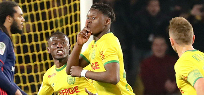 Foto: Emond en Limbombe laten zich ondanks nederlaag tegen Lyon zien bij Nantes