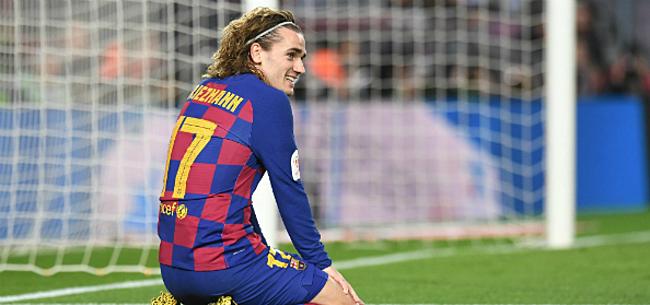 Foto: Nieuwe klap Barça: seizoen Griezmann lijkt voorbij