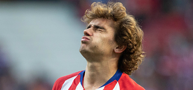 Foto: 'Atletico met handen in het haar: níémand kent toekomst Griezmann'