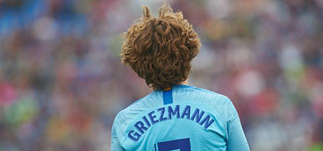 Foto: 'Onverwacht bod zet transfersoap Griezmann op zijn kop'
