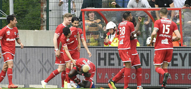 Foto: Mbokani bezorgt Antwerp Europees ticket na zinderende comeback