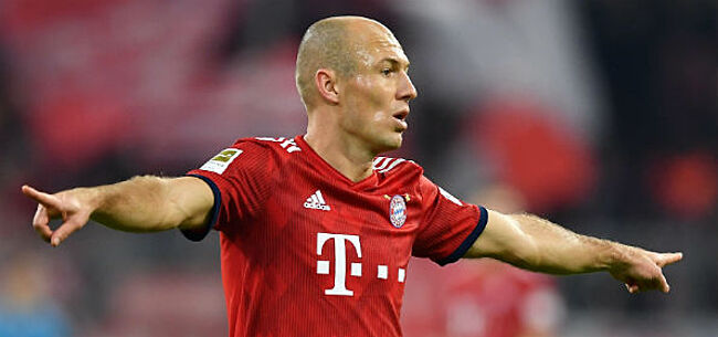 Foto: Heeft Robben zijn laatste match voor Bayern al gespeeld?