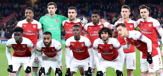 Foto: 'Schokkend: lijk gevonden in huis Arsenal-middenvelder'