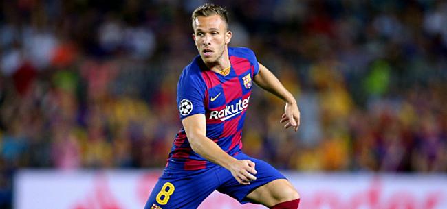 Foto: 'Rebellerende Arthur komt met gebaar naar Barça'