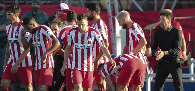Foto: Ook Simeone spaart de lofzang niet voor Carrasco