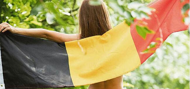 Foto: Bekend Vlaanderen maakt zich klaar voor 'match van de eeuw' van België (foto's)