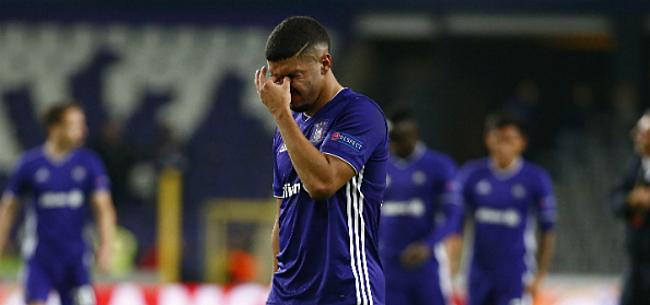 Foto: Nieuwe domper voor Anderlecht, aanvaller komt dit seizoen niet meer in actie
