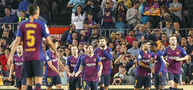Foto: FC Barcelona ziet na Messi weer sterkhouder voor weken uitvallen