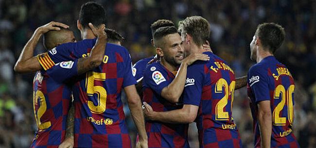 Foto: Barça veegt de vloer aan met Valencia en hijst zich naast Real