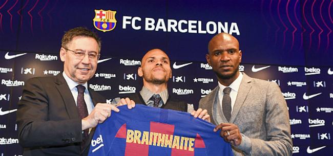 Foto: 'Barça laat noodaankoop Braithwaite met winst vertrekken'