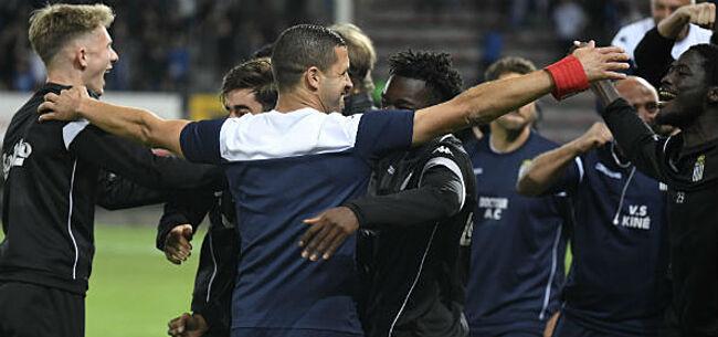 Foto: Charleroi lonkt naar Play-Off I: