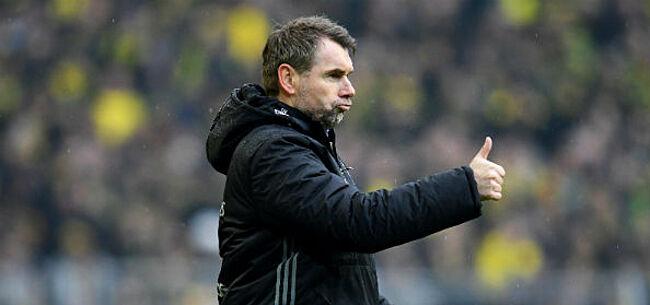 Foto: Nieuwe coach van Moeskroen: