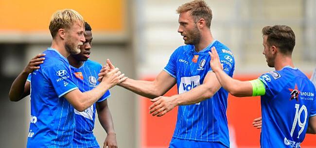 Foto: 'AA Gent stuurt twee spelers uit kampioenenploeg naar de B-kern'