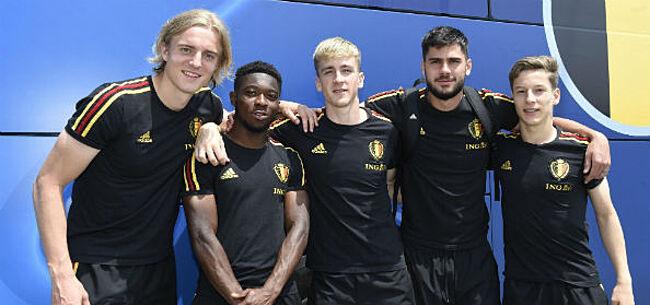 Foto: Kompany verwelkomt Jonge Duivels terug bij Anderlecht