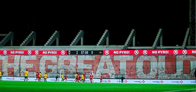 Foto: Antwerp mag geen Europees voetbal spelen op Bosuil