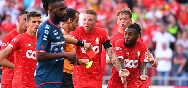 Foto: Standard-fans woedend: