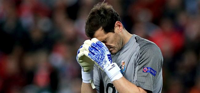 Foto: Casillas gaat op de rem staan over nakend pensioen