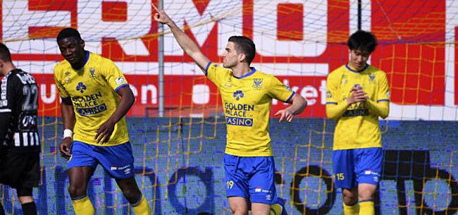 Foto: STVV spoelt competitiekater door met fraaie thuiszege tegen Charleroi