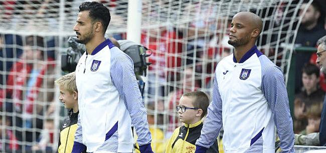 Foto: Blessurenieuws Anderlecht: hoop voor Kompany en Chadli
