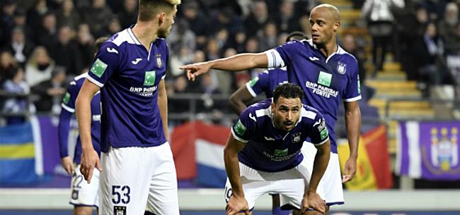 Foto: Anderlecht fysiek onderuit: