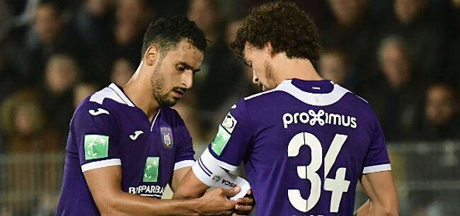 Foto: Anderlecht hakt knoop door: sterkhouder moet onder het mes
